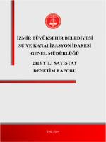 izmir büyükşehir belediyesi su ve kanalizasyon idaresi