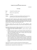 Perakende Ticaret Sektörü 03 06 2014