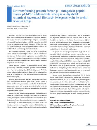 Bir transforming growth factor-β1 antagonist peptid