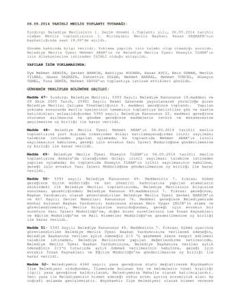 05-Mayıs Tutanağı 2014