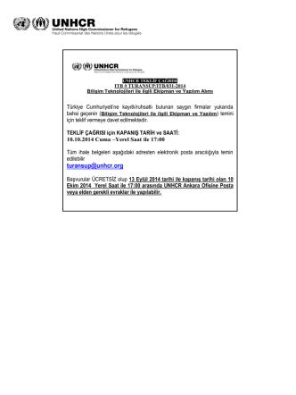 Advertising for the Invitation to Bid for Diesel Generators