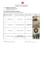 Şubat Ayı Programı