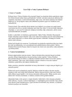 Yayın Etiği ve Yanlış Uygulama Bildirgesi 1. Yayın