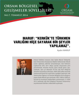 Aydın Maruf