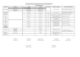 9. Sınıflar