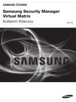 Samsung Security Manager Virtual Matrix