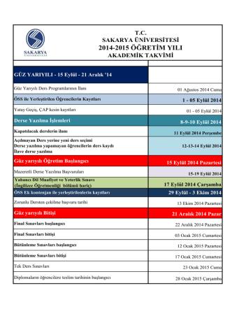 AKADEMİK TAKVİM 2014-15 14.5.2014.xlsx