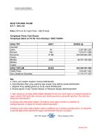 BİLGİ TOPLAMA TALEBİ B.T.T. / 2014- 03 Konu: 2014