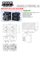 RECEPTACLES SYSTEM 742W-2P