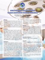 ameliyathane çalışanlarının yaşam kalitesinin değerlendirilmesi