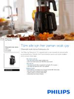 HD7301/00 Philips Çay Makinesi
