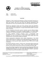 İstatistiki Kıymet - Ankara Gümrük Müşavirleri Derneği