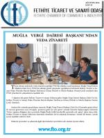Sayı- 32 - Fethiye Ticaret ve Sanayi Odası