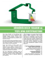 Mimta EcoYapı Sürdürülebilir Binalar ve Yeşil Bina Sertifikasyonu