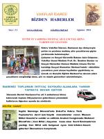 Ağustos 2014 Evkaf Aylık Dergisi