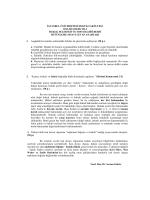 Hukuk Felsefesi ve Sosyolojisi Dersi Bütünleme Sınavı Cevap