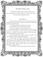 Bismillahirrahmanirrahim - Ayetullah Seyyid Sadık Hüseyni Şirazi