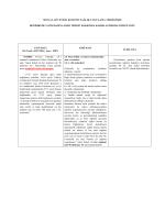 25 Temmuz 2014 SUT Değişikliği karşılaştırmalı bilgi notu
