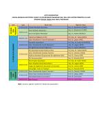 Felsefe ve Din Bilimleri ABD Güz Yarıyılı Ara Sınav Programı