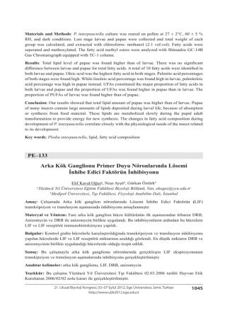 Arka Kök Ganglionu Primer Duyu Nöronlarında Lösemiİnhibe Edici