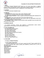 00.PR.10 Tasarım ve Geliştirme Prosedürü