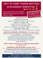 21-22 Mart 2014 - türkiye kemik iliği transplantasyon vakfı