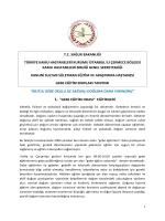 gebe eğitim sınıfları tanıtımı - İstanbul Kanuni Sultan Süleyman EAH