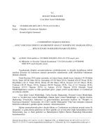 Disiplin ve Komisyon İşlemleri