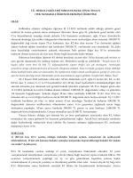 (TEK-2.ÖĞRETİM) FİNAL SINAVI CEVAP ANAHTARI