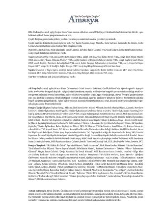 Amasya - Yapı Kredi Kültür Sanat Yayıncılık