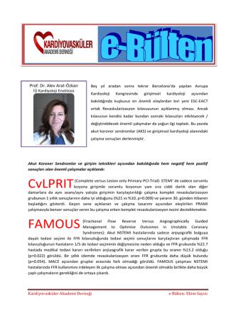 CvLPRIT FAMOUS - Kardiyovasküler Akademi Derneği