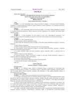 Selçuk Üniversitesi İş Sağlığı ve Güvenliği, Meslek Hastalıkları