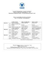2014-2015 Akademik Yılı Kitap Listesi