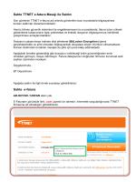 Sahte TTNET e-fatura Mesajı ile Saldırı Sahte e