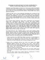 Eyap Genel Kurul Tutanağı 2014