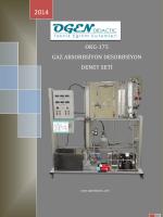 okg-175 gaz absorbsiyon desorbsiyon deney seti
