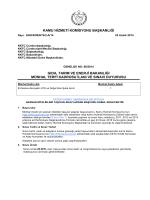 Gıda, Tarım ve Enerji Bakanlığı - Kamu Hizmeti Komisyonu