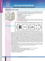 GAR-110 (110VDC/18Ah) - Gemta Genel Elektronik San. Tic. A.Ş.