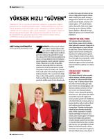 UNIBUSINESS Dergisi - Yüksek Hızlı Güven / Kasım 2014