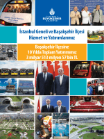 İstanbul Geneli ve Başakşehir İlçesi Hizmet ve Yatırımlarımız