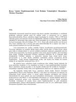 Türkiye Örnekleri - LaborComm – Uluslararası İşçi ve İletişim