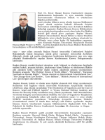 Prof. Dr. Enver Hasani, Başkan