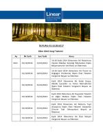 DUYURU: 01.10.2014/17 Ekim 2014 Vergi Takvimi
