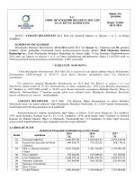 96. komisyon raporu - Ordu Büyükşehir Belediyesi