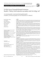 357-361 - Türk Biyokimya Dergisi
