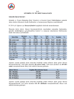 Gümrük İşlem Süreleri - Gümrük ve Ticaret Bakanlığı Risk Yönetimi