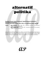 alternatif politika