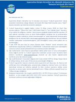Superonline İletişim Hizmetleri A.Ş. Abonelik Sözleşmesi