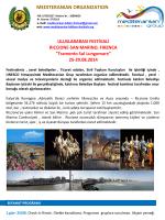 Riccione - San Marino - Mediteranian organization