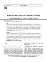 Konjonktivanın Melanositik Tümörleri